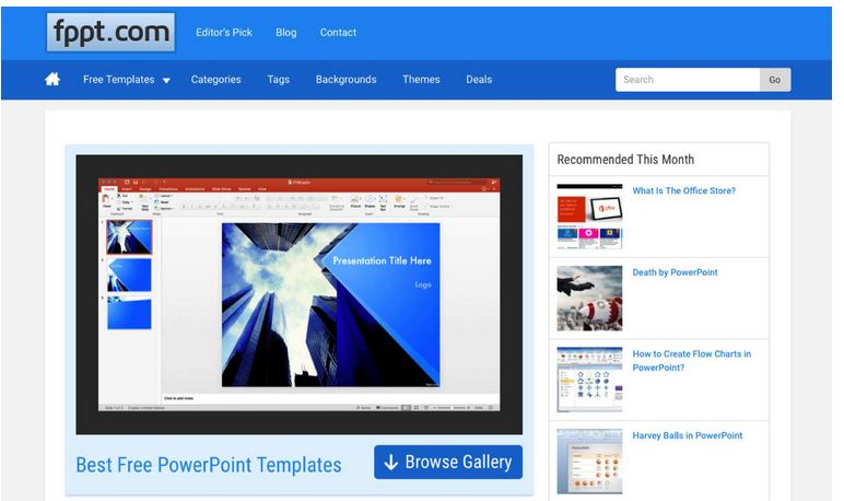 Fpptcom Review Trusted Free Powerpoint Templates For Presentation