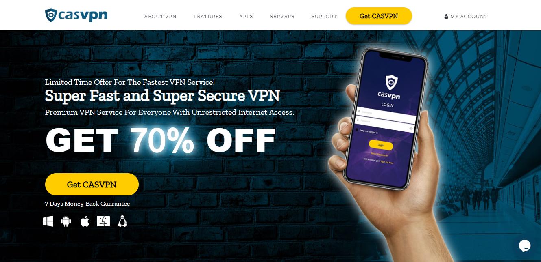 CASVPN Review: The Fastest & Super Secure VPN Service ...